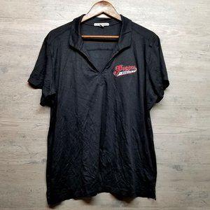 Poppa's Burger Polo Shirt. Perfect Condition! Soft